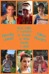 I was lucky enough to run a virtual double marathon with some dear friends from college. I ran 7.3 miles as part of this amazing team of women from across the country.  Inspired!