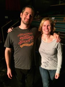 Heather and I made a quick trip to SLC to see a small venue Matt Nathanson show (our favorite). The show was beyond words, and Matt was his usual funny, gracious self at the meet-n-greet afterwards.  We talked about his socks.